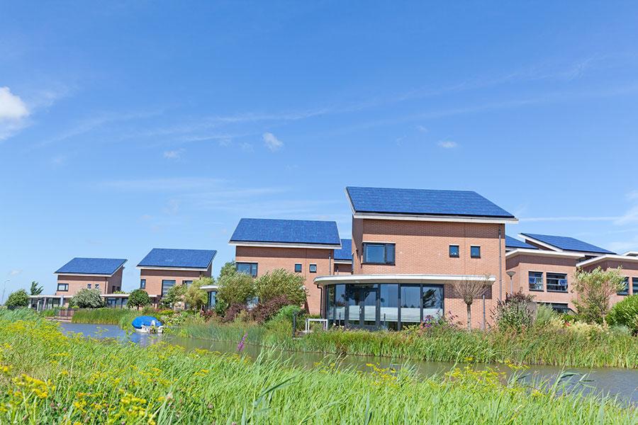 Photovoltaik auf Wohnhaus